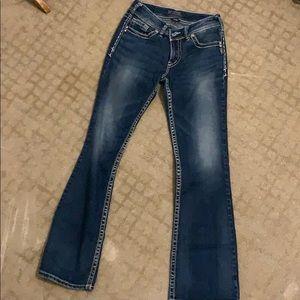 Silver jeans 28x34